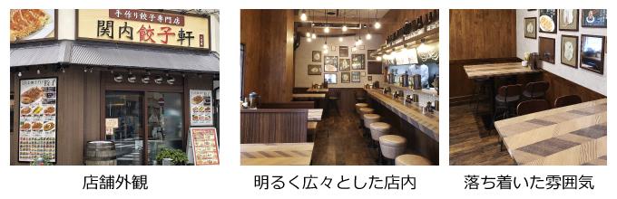 関内餃子軒2号店・内外観